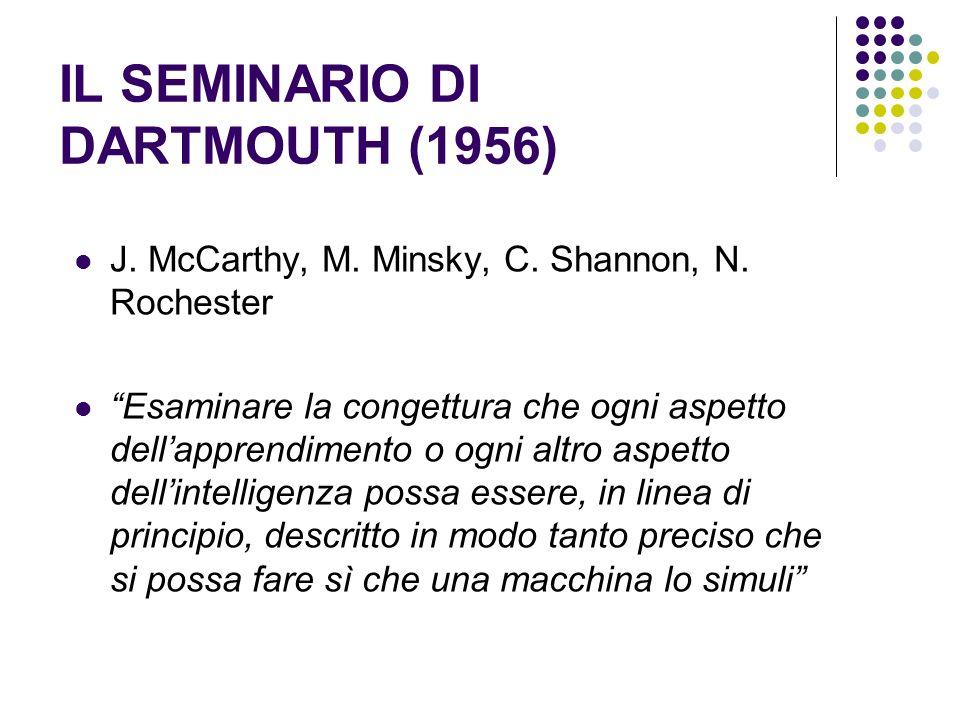 IL SEMINARIO DI DARTMOUTH (1956)