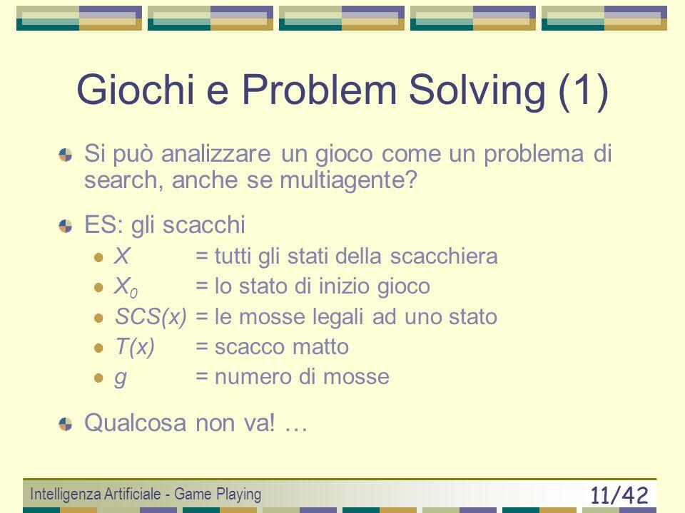 Giochi e Problem Solving (1)