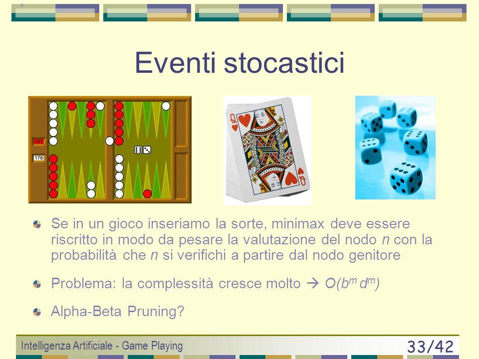 Eventi stocastici
