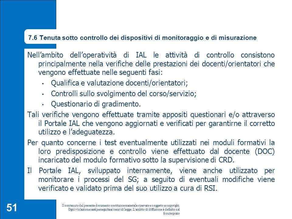 Qualifica e valutazione docenti/orientatori;