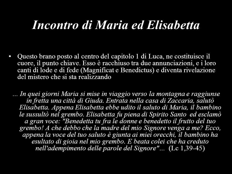 Incontro di Maria ed Elisabetta
