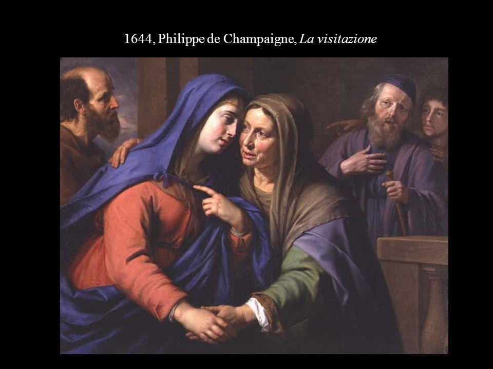 1644, Philippe de Champaigne, La visitazione