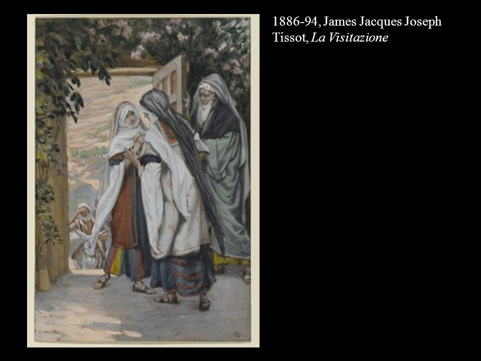 1886-94, James Jacques Joseph Tissot, La Visitazione