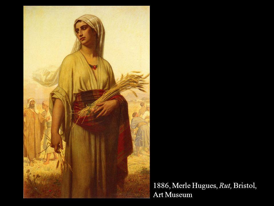 1886, Merle Hugues, Rut, Bristol, Art Museum