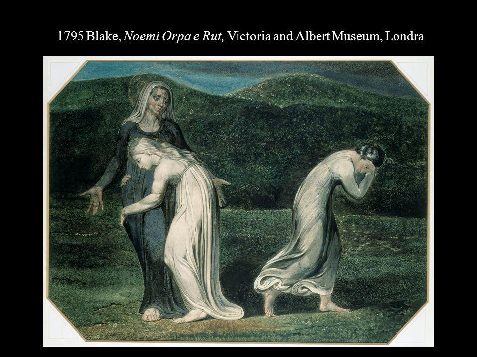 1795 Blake, Noemi Orpa e Rut, Victoria and Albert Museum, Londra