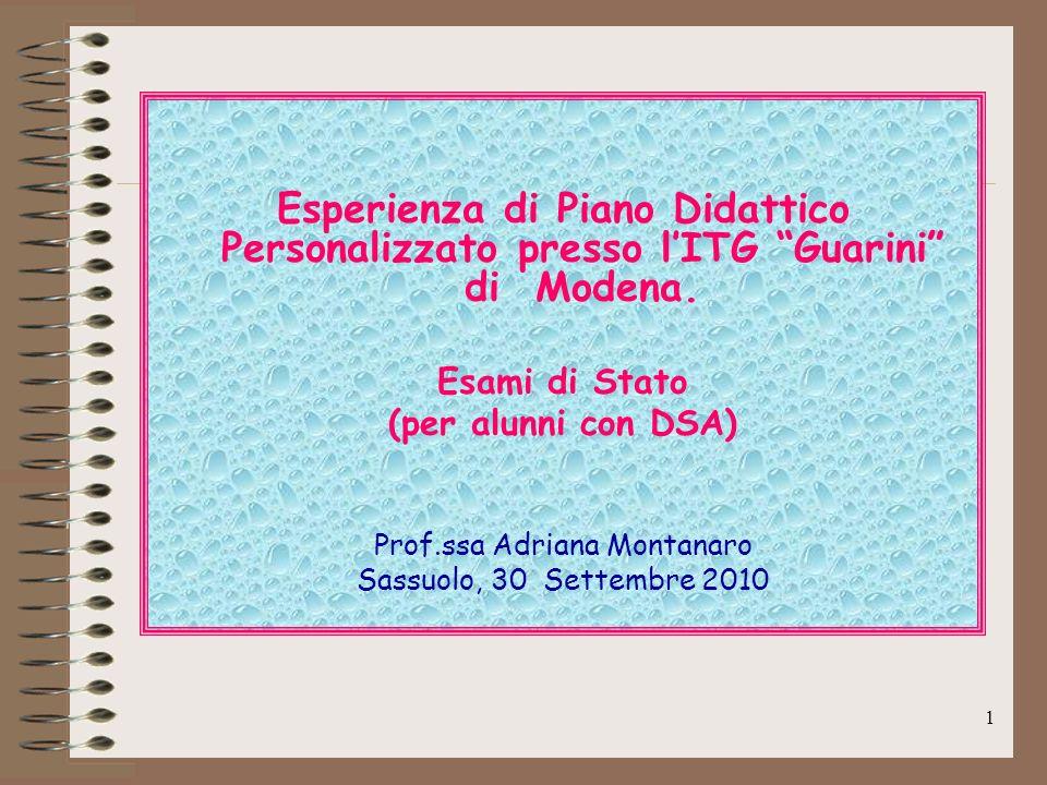 Prof.ssa Adriana Montanaro