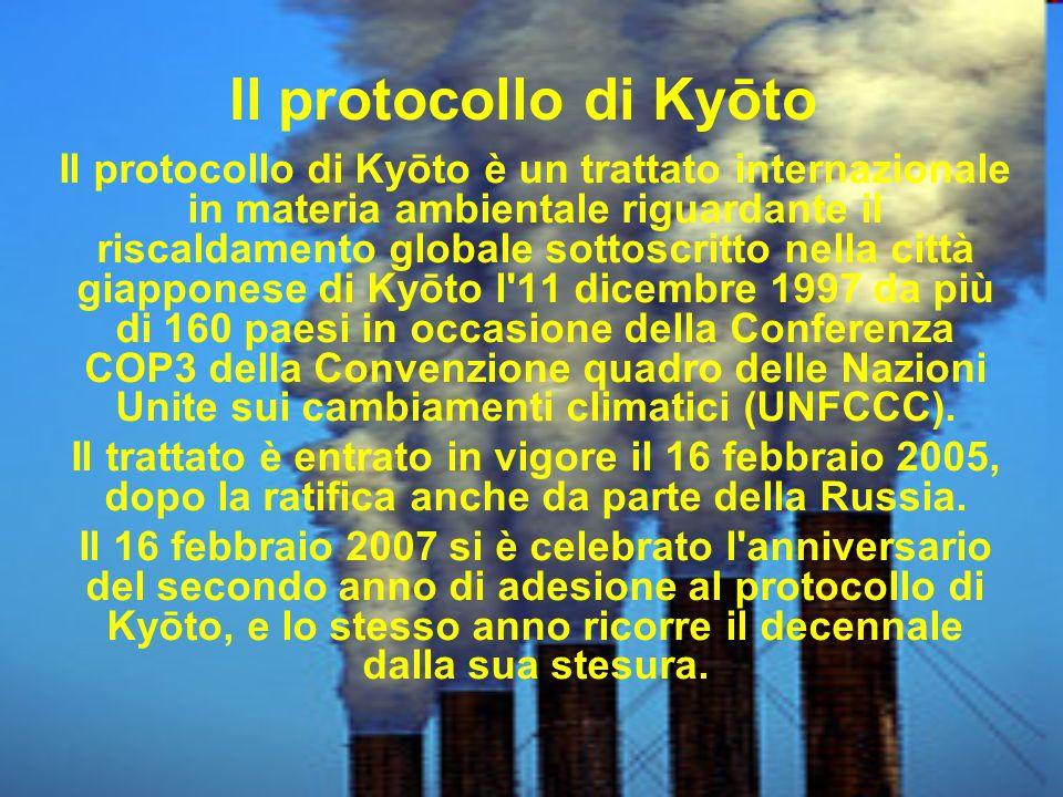 Il protocollo di Kyōto