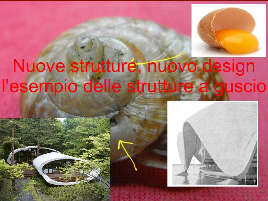 Nuove strutture, nuovo design l esempio delle strutture a guscio