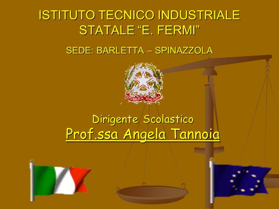 Dirigente Scolastico Prof.ssa Angela Tannoia