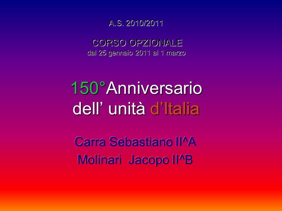 Carra Sebastiano II^A Molinari Jacopo II^B