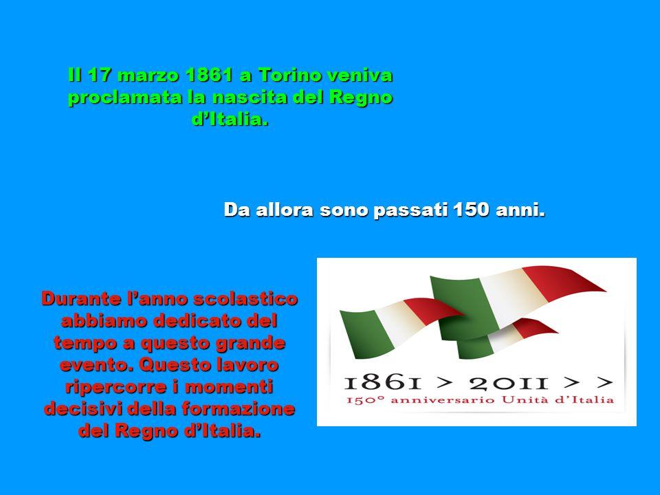 Da allora sono passati 150 anni.