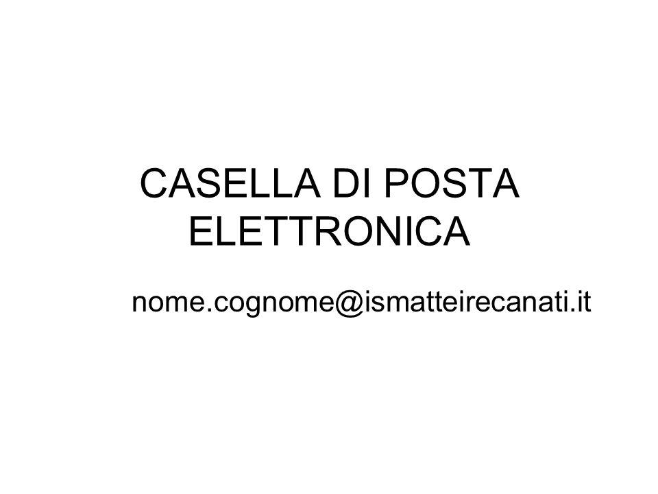 CASELLA DI POSTA ELETTRONICA