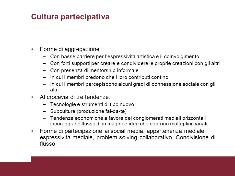 Cultura partecipativa