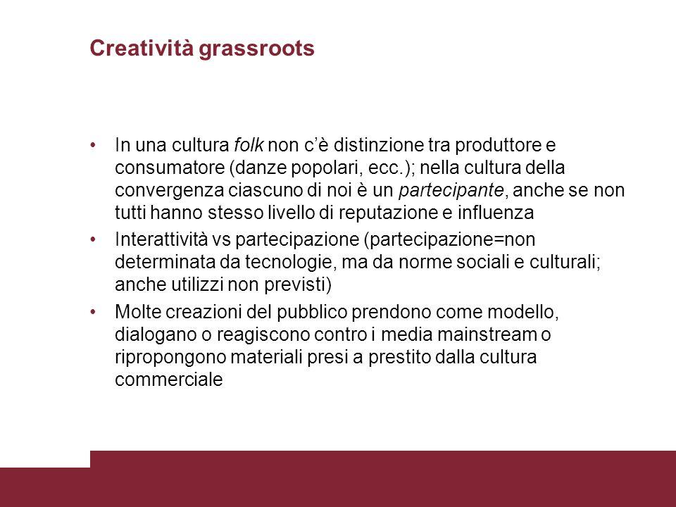 Creatività grassroots