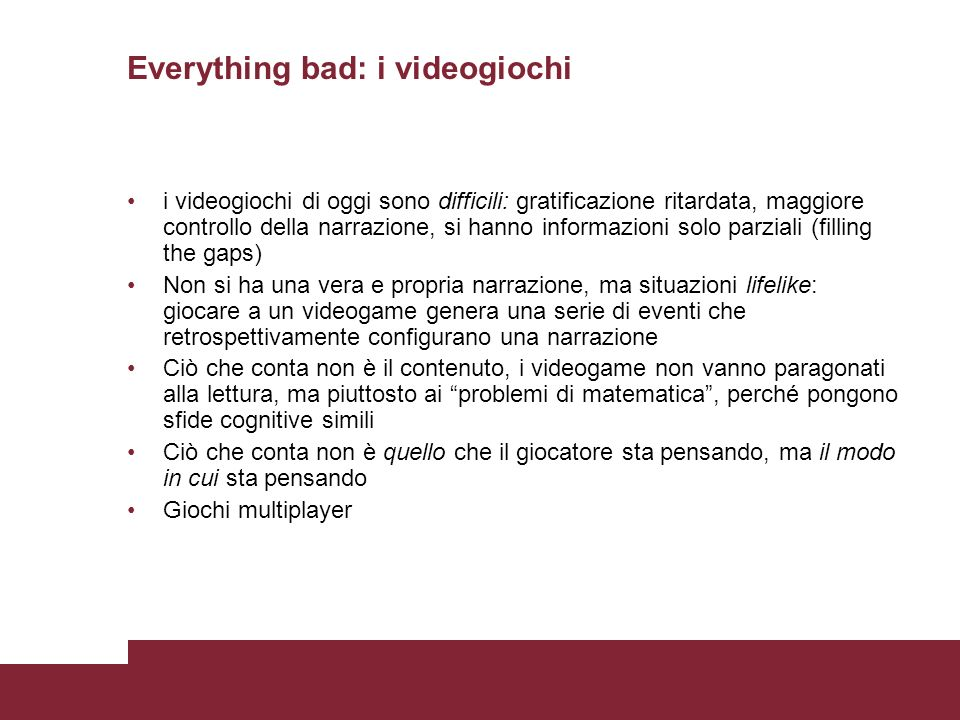 Everything bad: i videogiochi