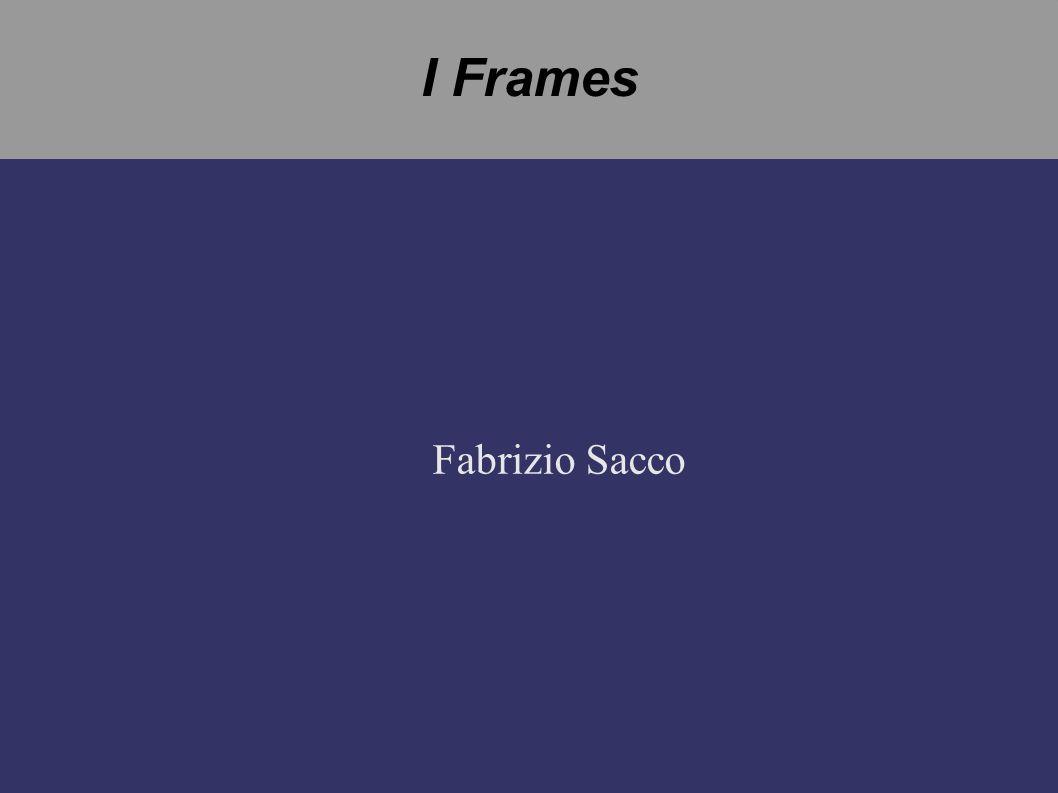 I Frames Fabrizio Sacco