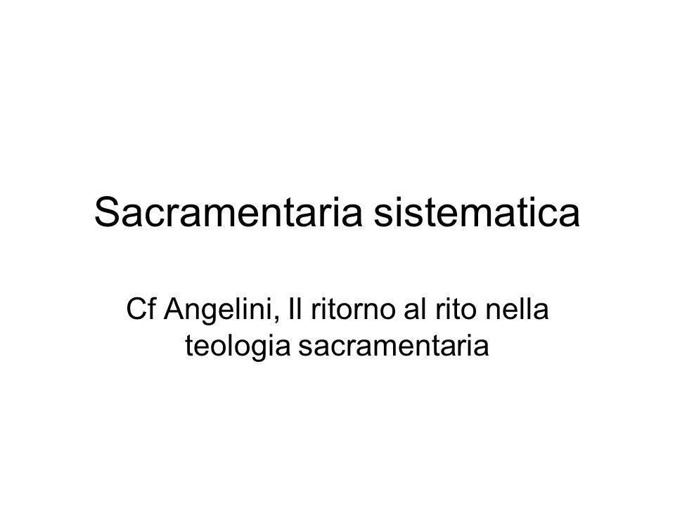 Sacramentaria sistematica