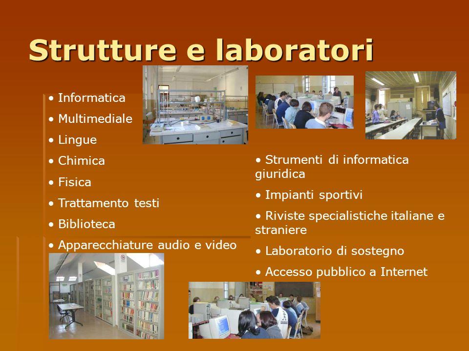Strutture e laboratori