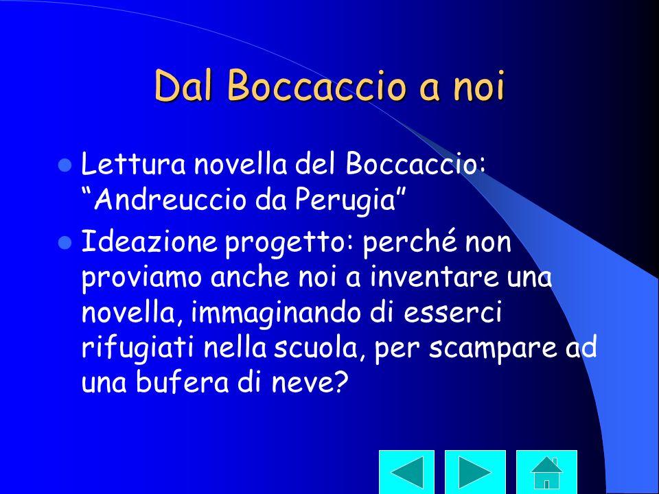 Dal Boccaccio a noi Lettura novella del Boccaccio: Andreuccio da Perugia