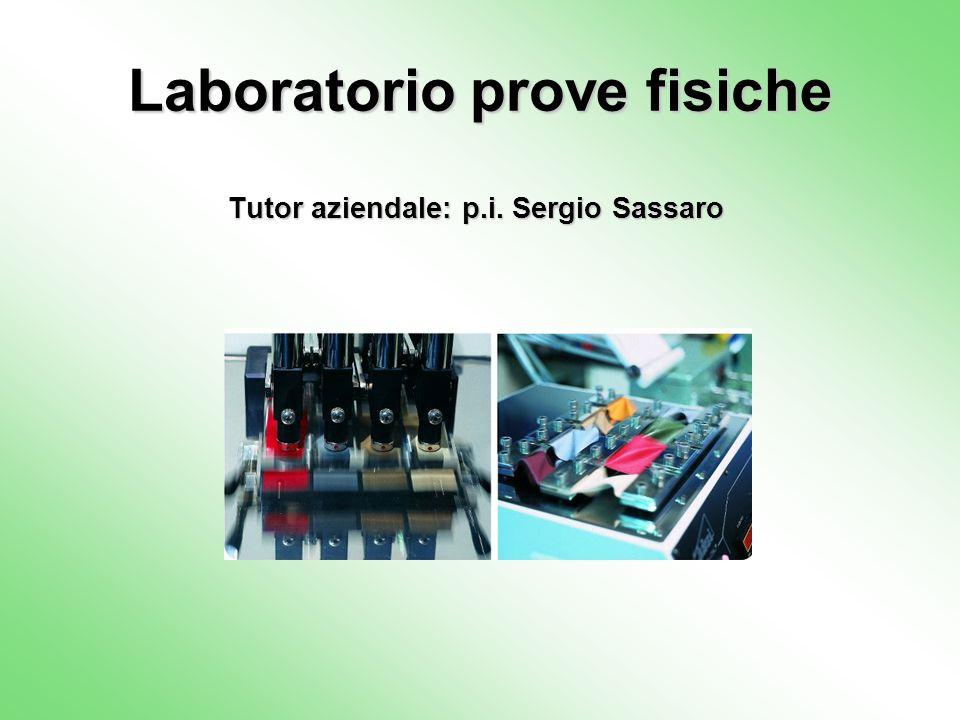 Laboratorio prove fisiche