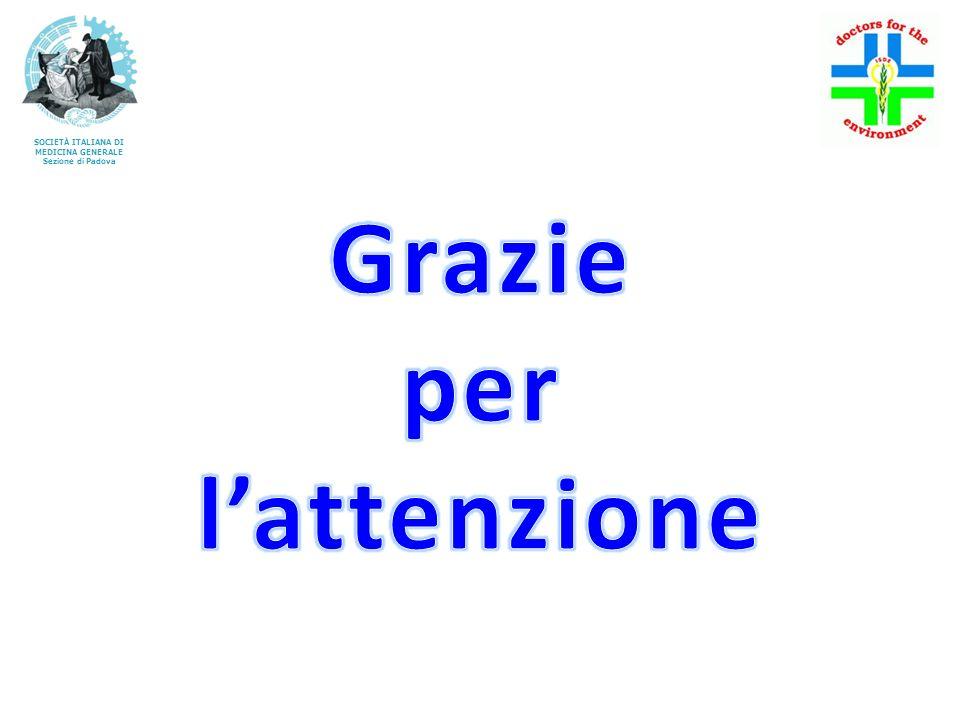 SOCIETÀ ITALIANA DI MEDICINA GENERALE Sezione di Padova
