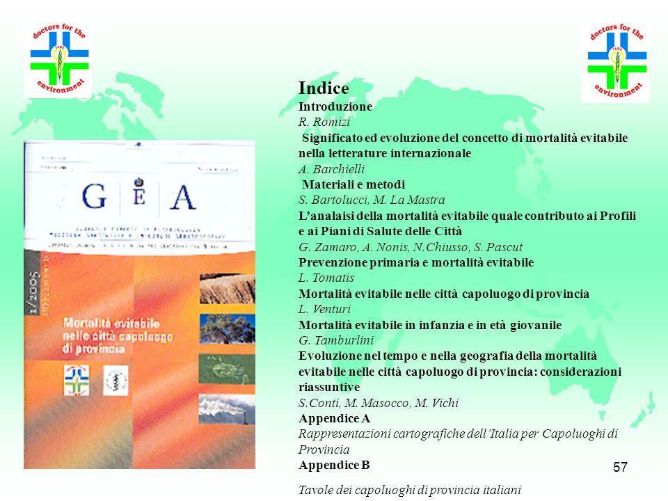 Indice Introduzione R. Romizi