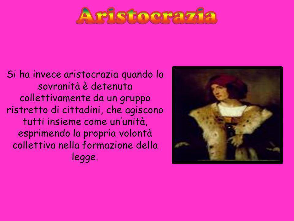 Aristocrazia