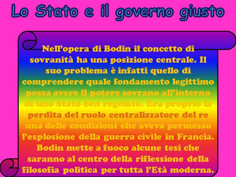 Lo Stato e il governo giusto