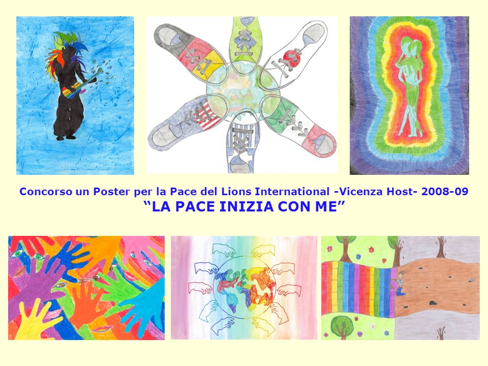 Concorso un Poster per la Pace del Lions International -Vicenza Host- 2008-09