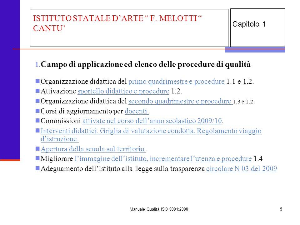 ISTITUTO STATALE D'ARTE F. MELOTTI CANTU'