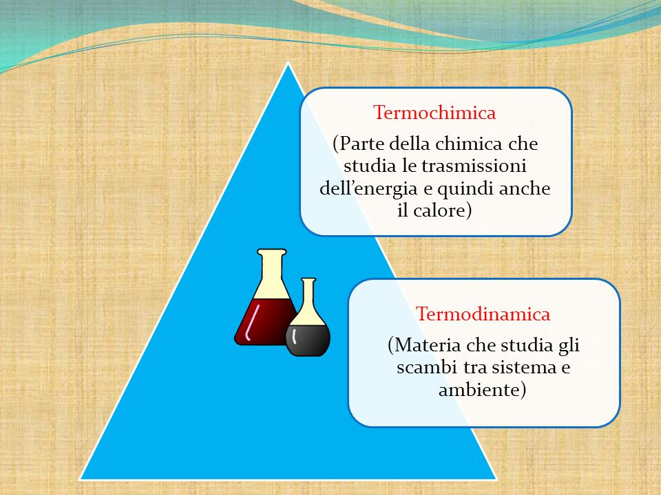 (Materia che studia gli scambi tra sistema e ambiente)