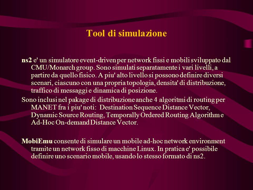 Tool di simulazione