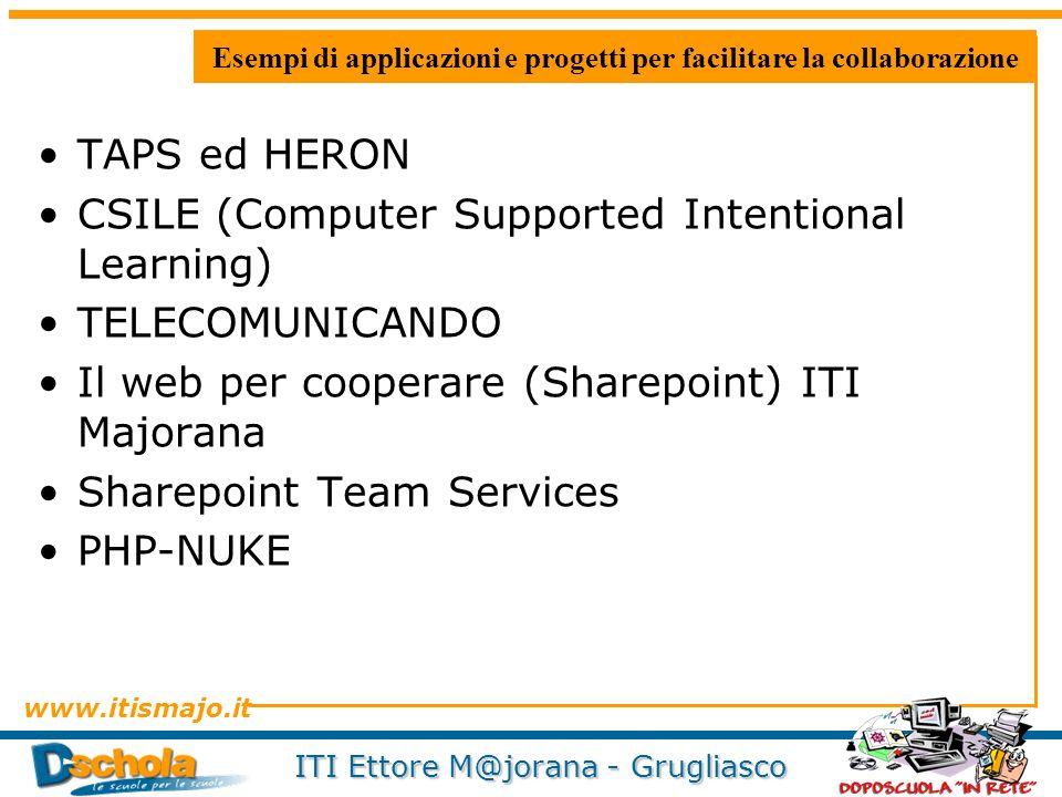 Esempi di applicazioni e progetti per facilitare la collaborazione