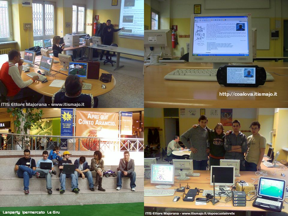 http://coalova.itismajo.it Lanparty ipermercato Le Gru