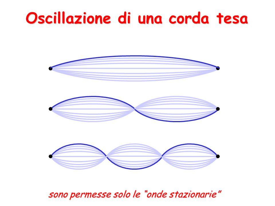 Oscillazione di una corda tesa