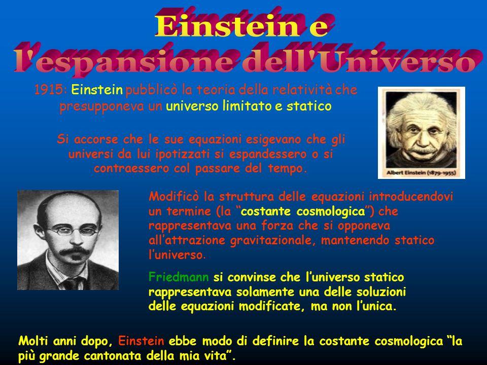 l espansione dell Universo