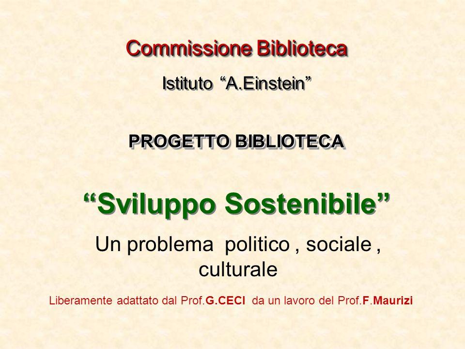 Un problema politico , sociale , culturale