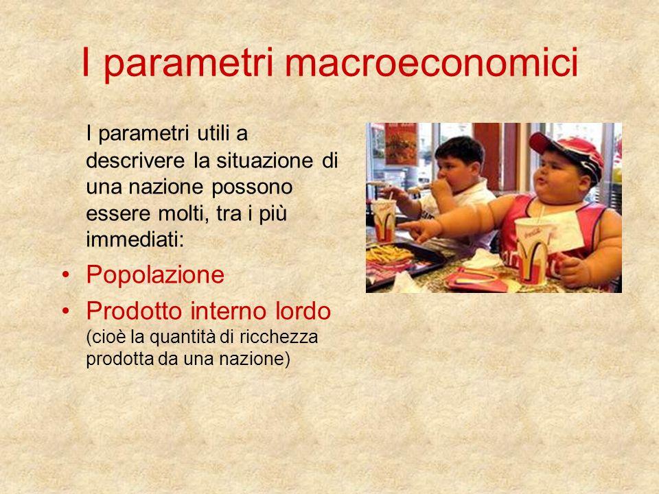 I parametri macroeconomici