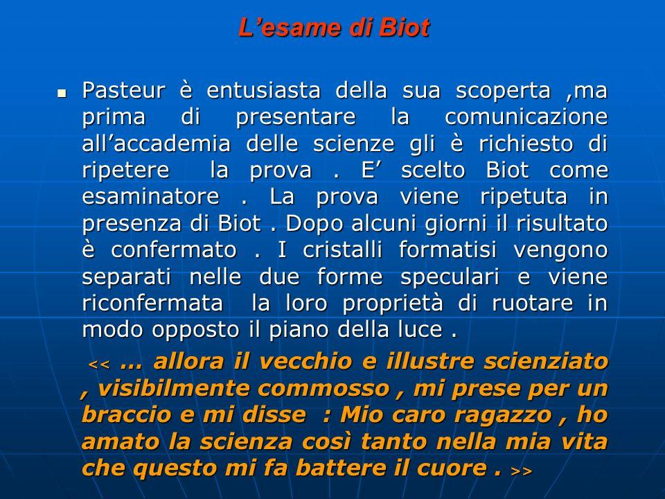 L'esame di Biot