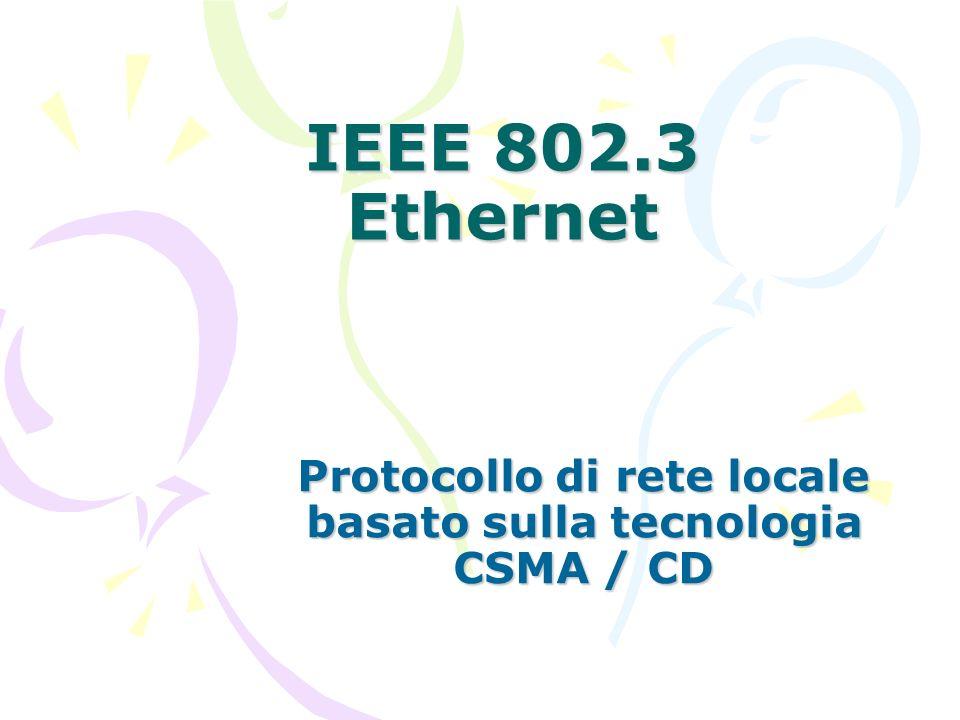 Protocollo di rete locale basato sulla tecnologia CSMA / CD