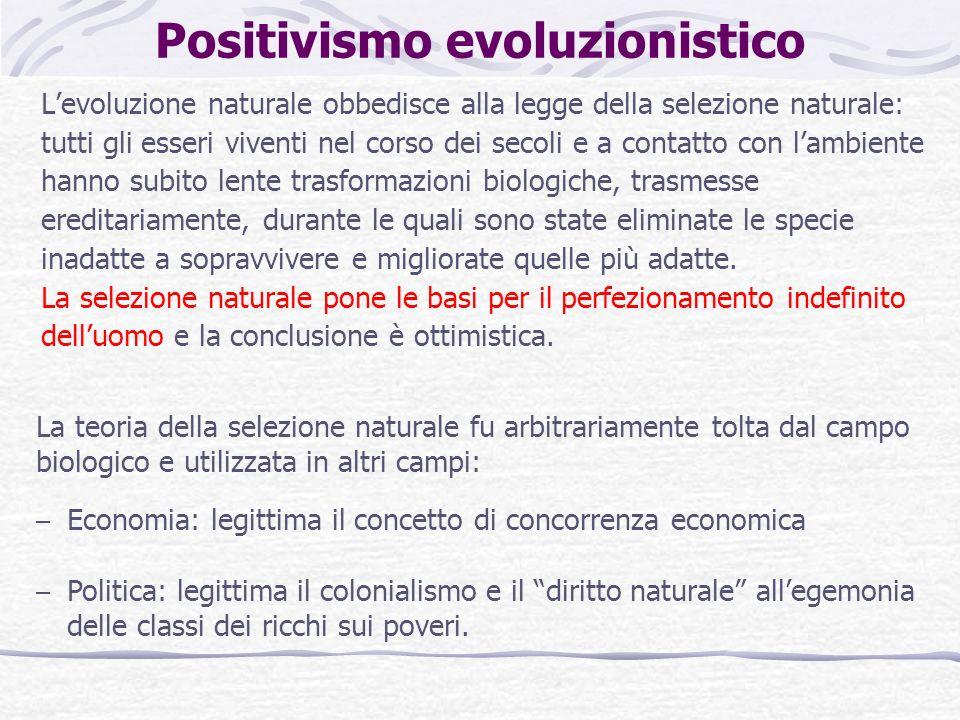 Positivismo evoluzionistico