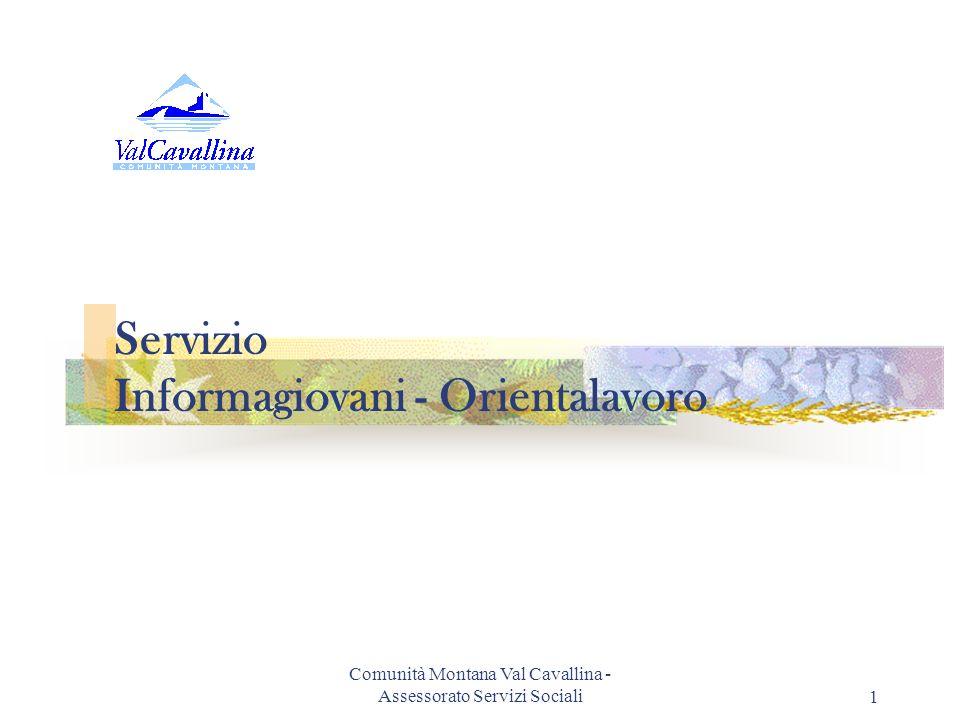 Servizio Informagiovani - Orientalavoro