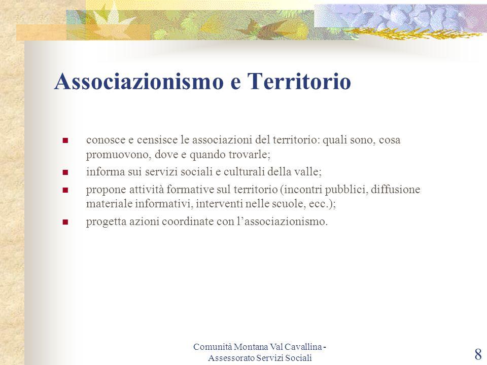 Associazionismo e Territorio