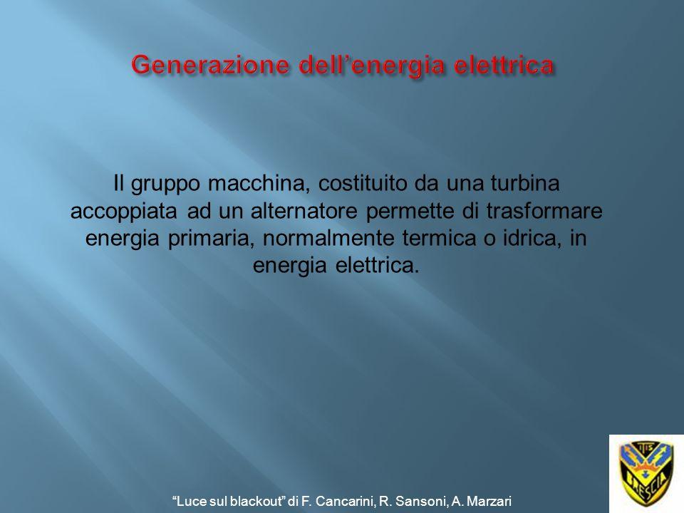 Generazione dell'energia elettrica