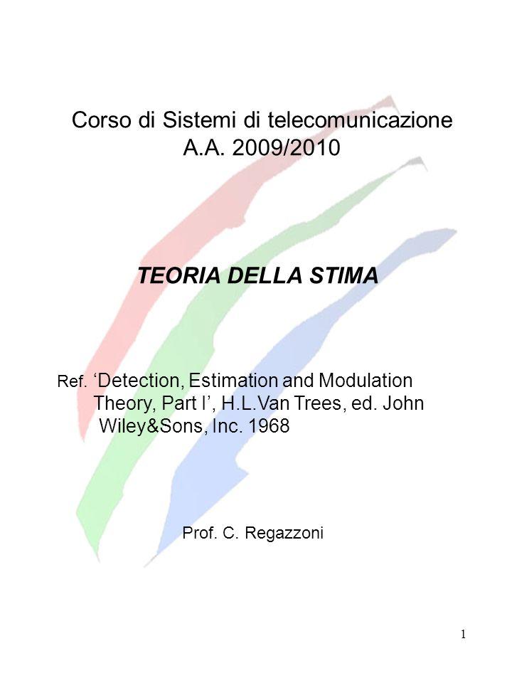 Corso di Sistemi di telecomunicazione