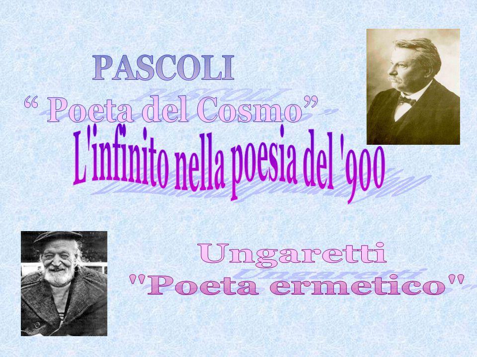 L infinito nella poesia del 900