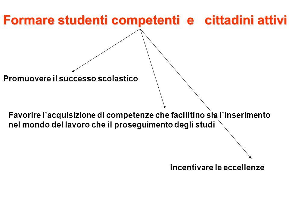 Formare studenti competenti e cittadini attivi