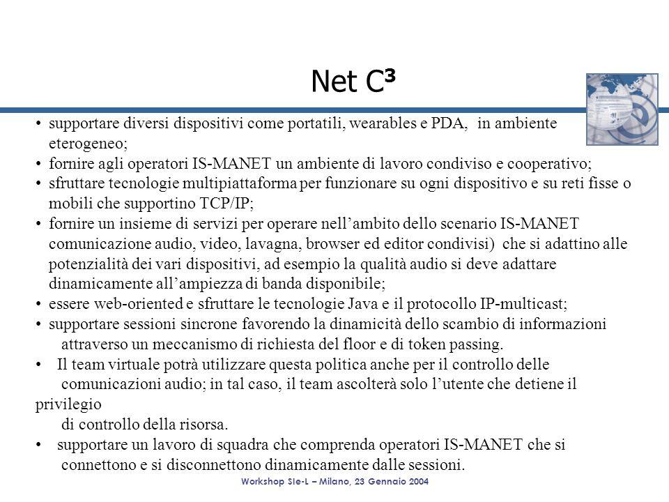 Workshop SIe-L – Milano, 23 Gennaio 2004