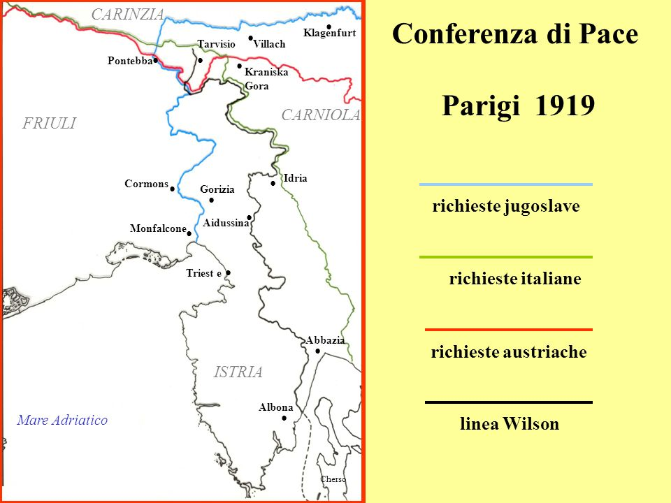Conferenza di Pace Parigi 1919