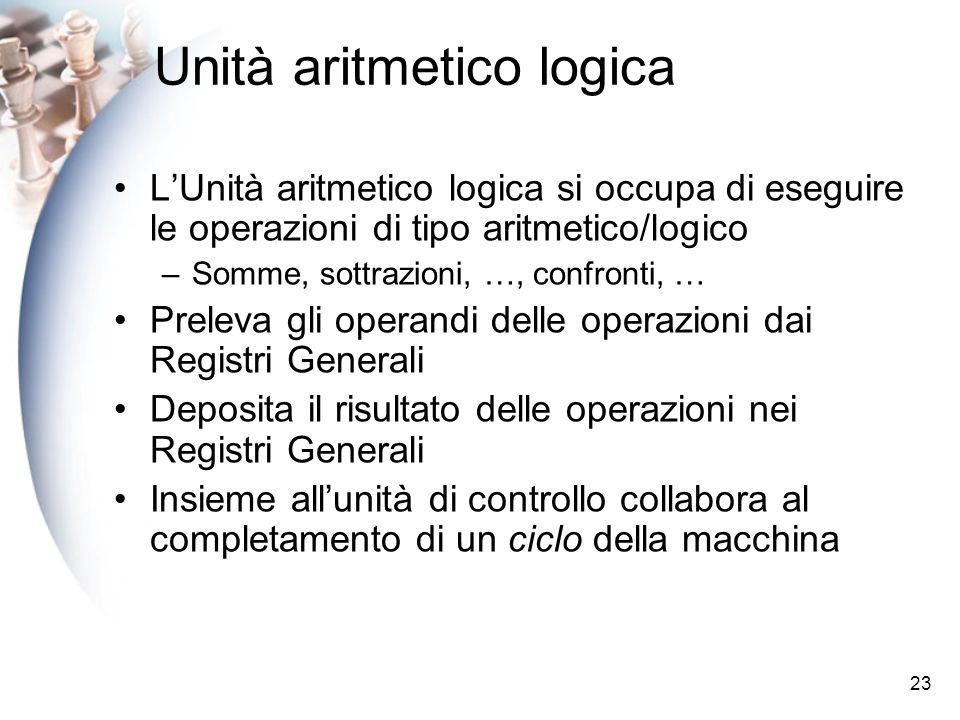 Unità aritmetico logica